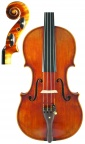Strad Violin 15 Front & Scroll